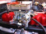 The original throttle linkage wasn't quite long enough...