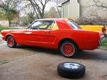 """With 13"""" steelies and old whitewall tires (not something I ever actually left on)"""