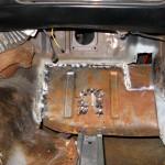 PS toe board welded in place