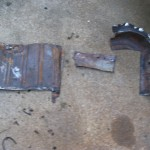 Some of the old floor pieces