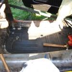 DS floor pan in