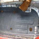 DS floor pan rear detail