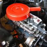 Engine, passenger side