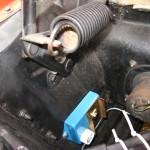 Mopar ignition box mounted