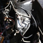 Wiring near coil and to distributor