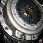 Clutch and pressure plate, another angle